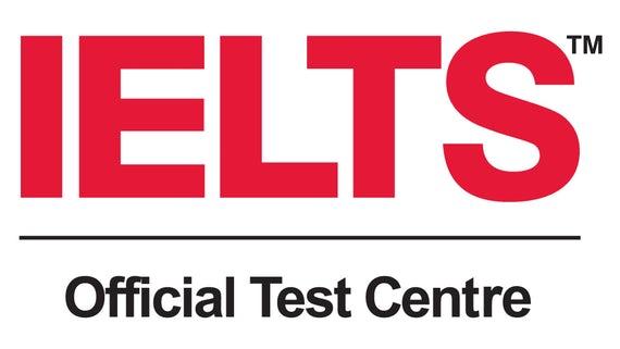 IELTS official test centre logo